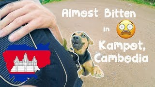 😫 Almost Bitten TWICE In Kampot, Cambodia 🇰🇭