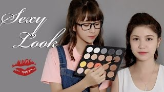 Makeup w QA #1  x An Japan : SEXY LOOK !