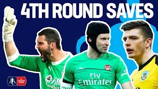 Cech Denies Pogba, Nick Pope Super Save & More! | Saves of the 4th Round | Emirates FA Cup 2018/19