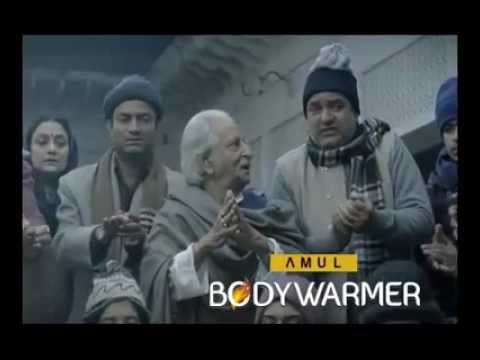 Amul Body Warmers popular funny tvc