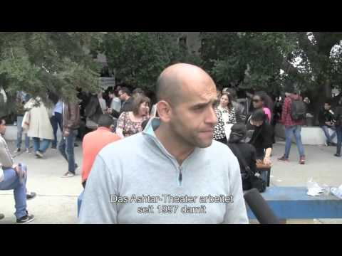 Interview with Mohammed Eid, actor, Ashtar Theatre, Palestine. World Social Forum, Tunis 2015