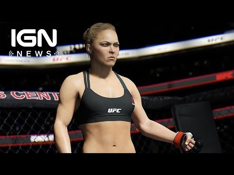 Ronda Rousey Is the EA Sports UFC 2 Cover Athlete - IGN News