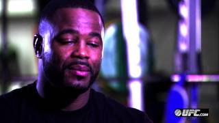 UFC 161: Rashad Evans Pre-Fight Interview