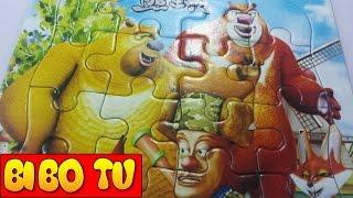 Đồ Chơi Xếp Hình Trẻ Em & Trò Chơi Ghép Hình Chú Gấu Boonie Cho Bé | Puzzle Bear Game For Kids P1