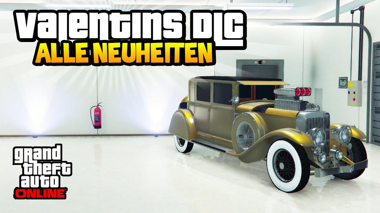 GTA 5 Online: DAS VALENTINSTAG DLC IST DA ! - Neue Autos, Waffen ...