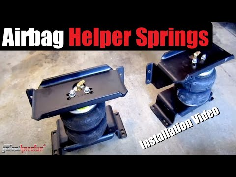 How to Install Airbag Helper Springs (Firestone Ride Rite)