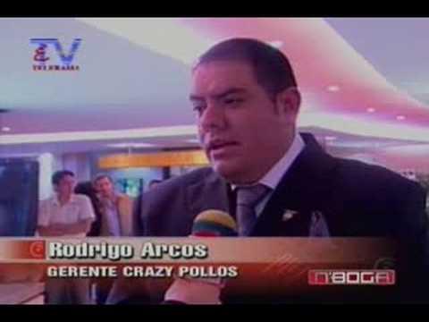 Nueva cadena de restaurantes Crazy Pollo en Quito