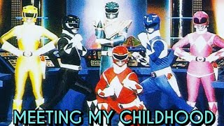 I Finally Met The Original Power Rangers| My Experience Meeting with My Childhood Heroes