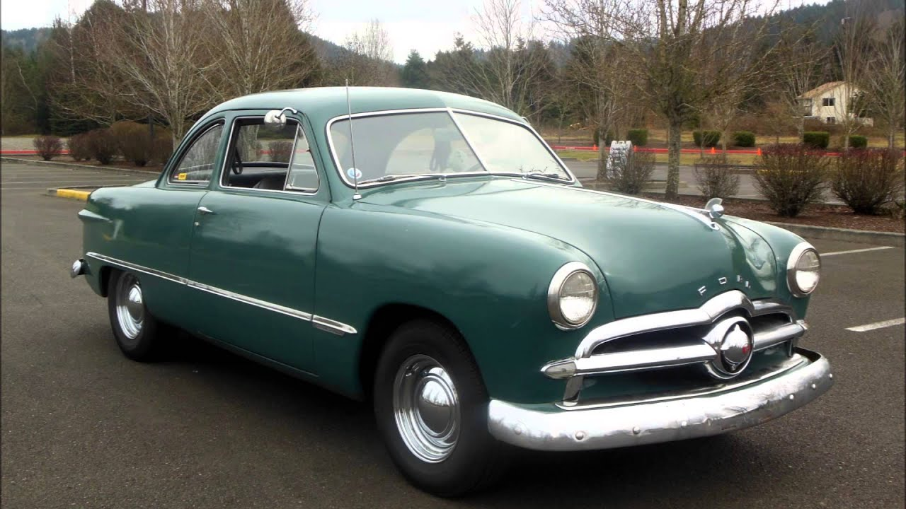 1949 Ford Buisness Coupe Youtube