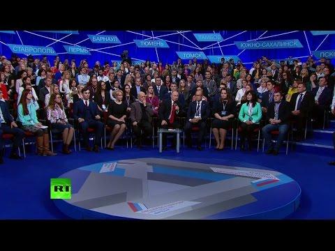 Путин проводит медиафорум «Правда и справедливость» в Санкт-Петербурге