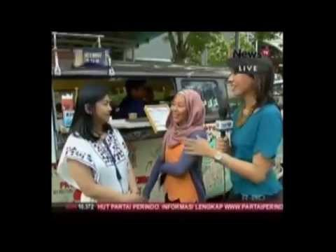 INDONESIA FOOD TRUCK PARADE 2015 LIVE ON 'JAKARTA TODAY' iNews TV