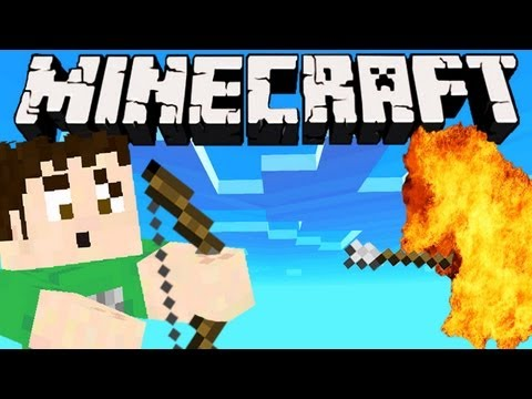 Minecraft - EXPLOSIVE ARROW