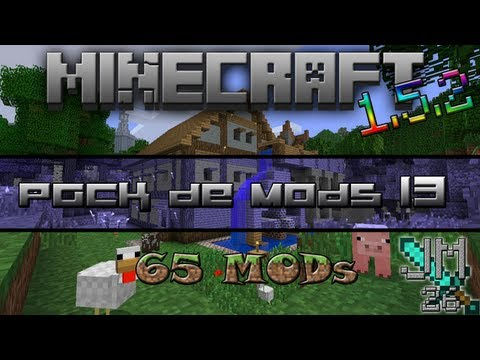 Pack de mods #13 - 65 Mods | Minecraft 1.5.2