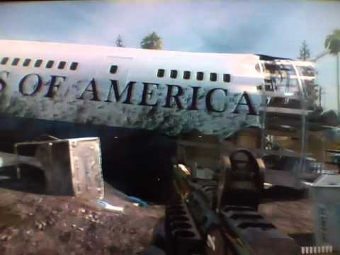 Mw3 Black Box Plane Crash Air Force One Youtube