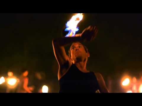 Fire Contact Juggling (Richard Hartnell)