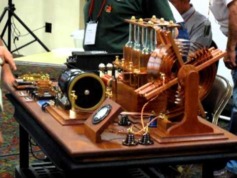 Rotary Spark Transmitter at Dayton Hamvention 2010 -- Part 1