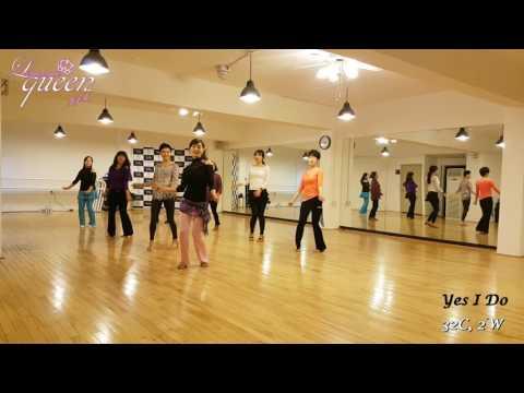 Yes I Do Line Dance