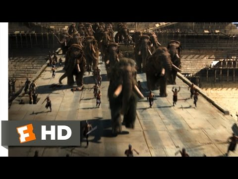 10,000 BC (8/10) Movie CLIP - Mammoth Stampede (2008) HD streaming vf