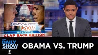 Obama Lights Up Donald Trump | The Daily Show