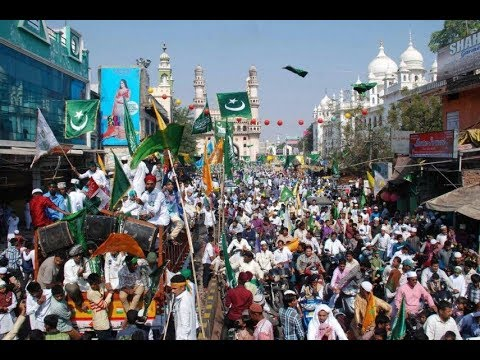 Eid Milad-un-Nabi (S.A.W.) Grand Celebration in Hyderabad | BBN NEWS