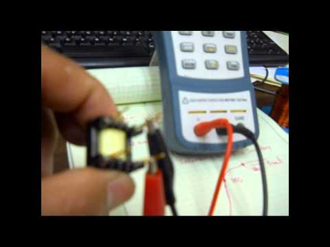Analysis and Design, of a Flyback; part 6; How to wind and characterize a transformer