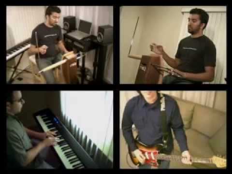 Gnarls Barkley Crazy Theremin Jam Video