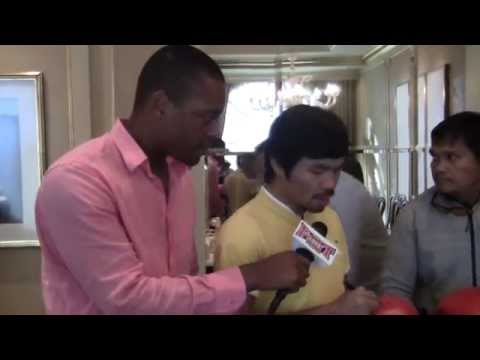 Manny Pacquiao: NO Floyd Mayweather Talks; I'm Looking For Danny Garcia!