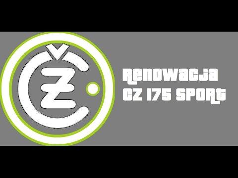 CZ 175 sport 1973 - RENOWACJA