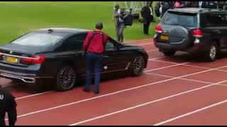 Mike Sonko Escorted by EXPENSIVE Cars During President Kagame's Inauguration