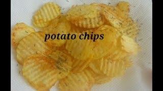 Cara mudah membuat Keripik kentang renyah ala citato#how to make potato chips