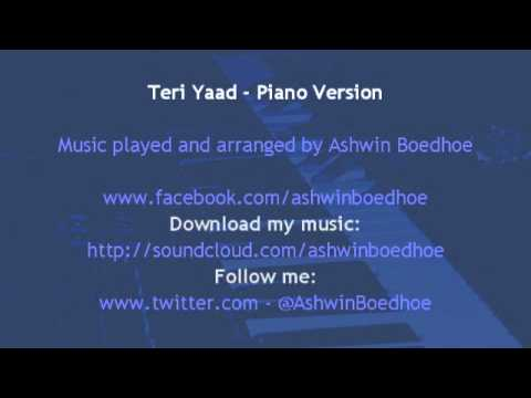 Teri Yaad Aa Rahi - Piano Version by Ashwin Boedhoe