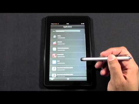 Kindle Fire  How to Close Running Apps - Kindle Fire HD (High).flv