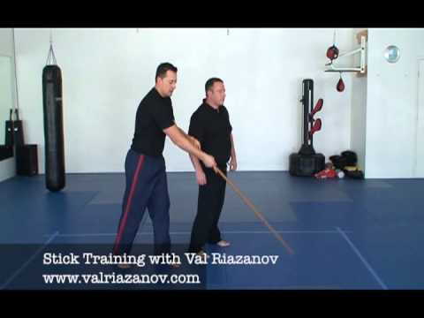 Stick Training with Val Riazanov, Russian Martial Arts Systema Image 1