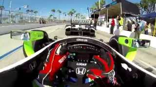 Visor Cam: Toyota Grand Prix of Long Beach