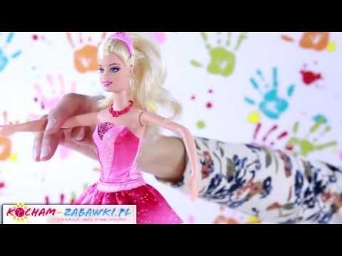 Transforming Ballerina Kristyn Doll / Primabalerina Kristyn 2w1 - Barbie i Magiczne Baletki  - X8810