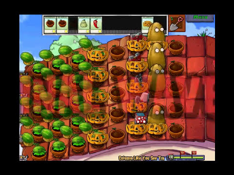 Plants Vs. Zombies - Column Like You See 'Em Minigame - High Quality