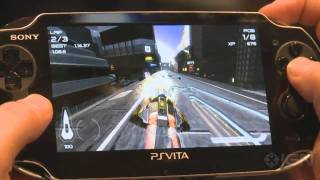 PS Vita WipEout 2048 - E3 2011_ Gameplay Off-Screen