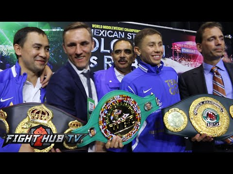 Gennady Golovkin vs. Marco Antonio Rubio full post fight press conference video