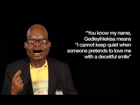 Jacob Zuma and Mangosuthu Buthelezi - it's a Zulu Off