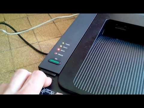 Brother HL-2250DN - Reset du niveau d'encre du toner.
