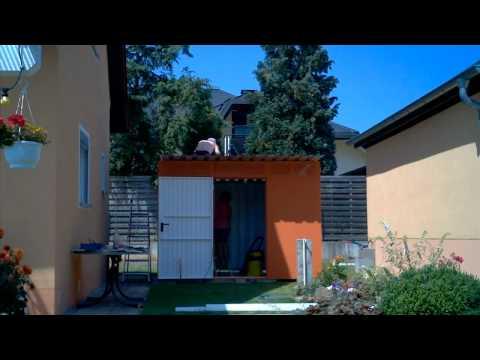 Aufbauvideo Unseres Siebau Metallgerätehauses  PGH 7...