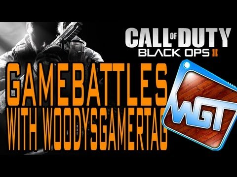 GameBattles with WoodysGamertag: The First Game! (Black Ops 2)