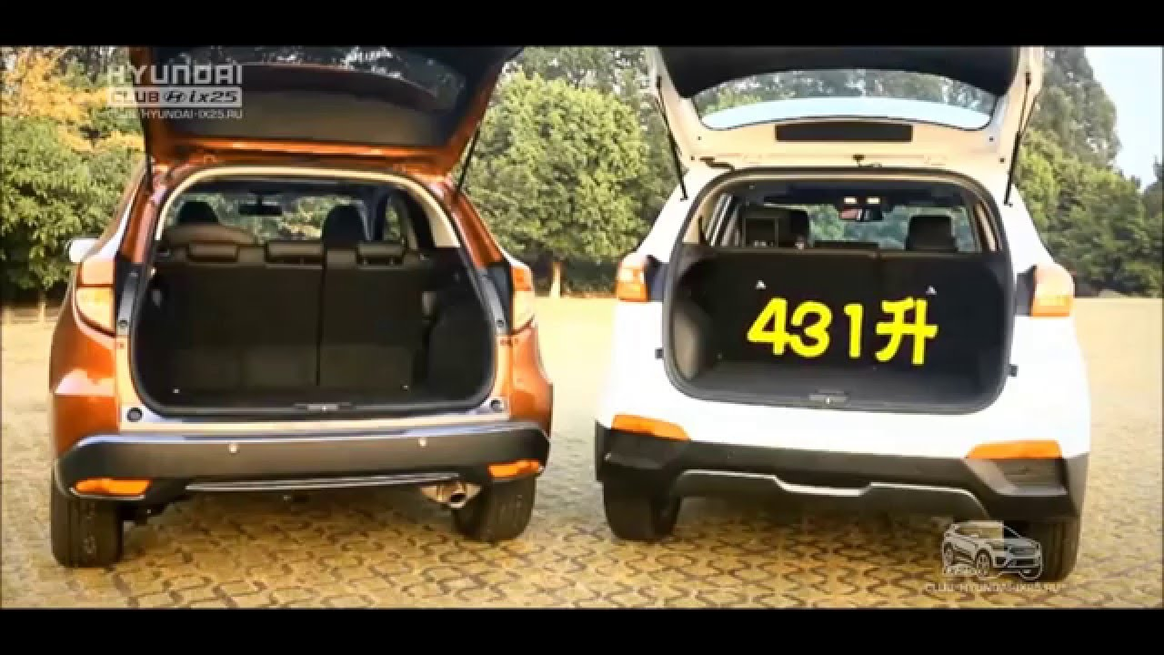 Hyundai Creta/ix25 vs Honda HR-V - YouTube