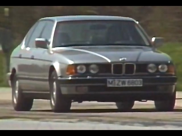 BMW 7 Series E32 Full Promo Official BMW Film ... - YouTube