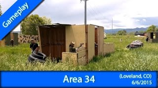 ♥ Airsoft Gameplay: Area 34 (Loveland, CO) 6/6/15