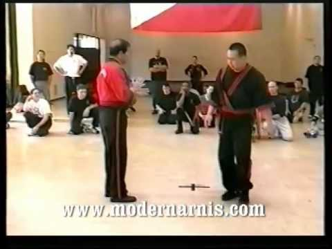 Modern Arnis Live Seminar Sinawali Application with Grandmaster Remy A. Presas Image 1