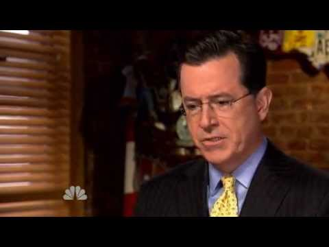 Rock Center with Brian Williams | Stephen Colbert interviewed by Ted Koppel