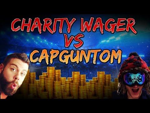 Charity Wager vs CapgunTom - OMG MARIANO OP!!! FIFA 14