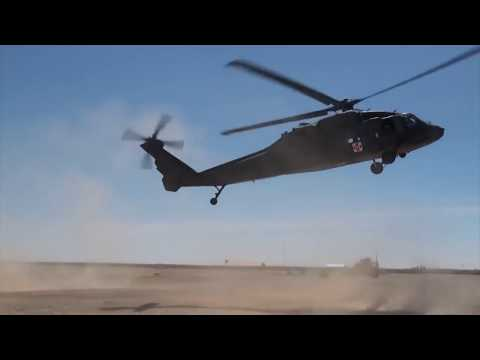 Casualty Evacuation Drill at Camp Dwyer, Helmand Province, Afghanistan