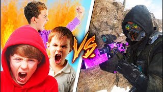 DESTROYING A PARTY OF TRASH TALKERS in BLACK OPS 3!
